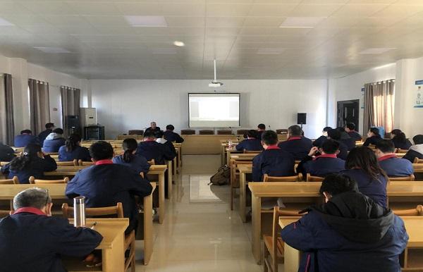 公司开展多期节后复工安全教育培训