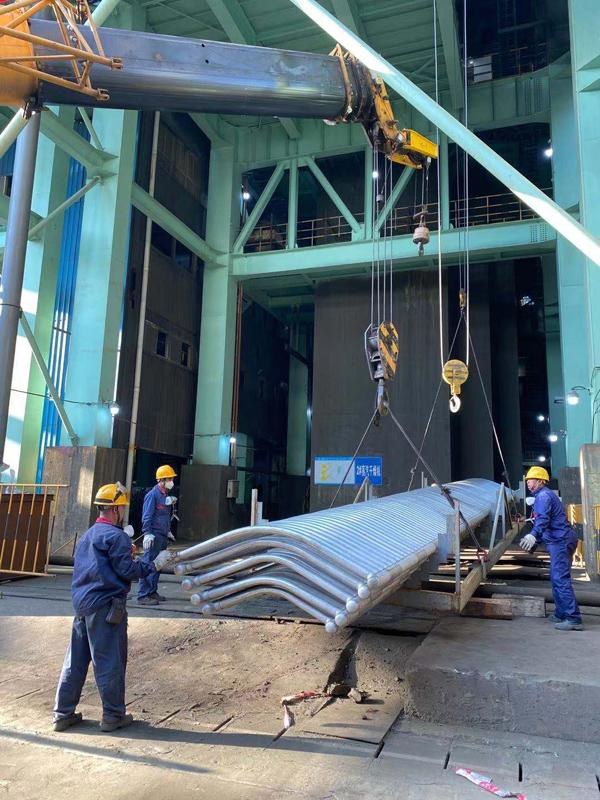 公司全力推进金隆铜业大修项目